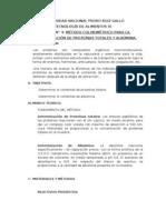 Prctica n 4 Determinacin de Protenas Totales y Albmina