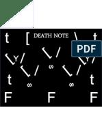 Death Note Sketch