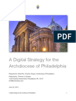 A Digital Strategy for the Archdiocese of Philadelphia