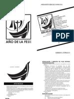 Subsidio Clero - Apertura del Año de la Fe 2012