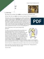 Work Sheet Episode 2