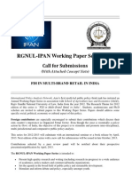 IPAN Working Paper-Call for Submissions