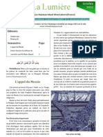 The Light, French edition, October 2012 issue