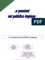 Le Pensioni Nel Pubblico Impiego