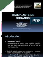 Trasplante de Organos