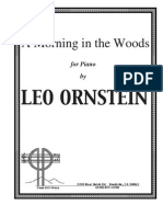 Leo Ornstein - Morning in the Woods S106