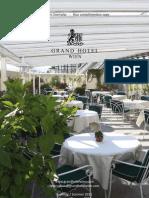 Grand Hotel Wien Spring Magazine