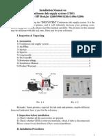 Installation Manual HP DeskJet 1280 9300 1120c 1180c 1200