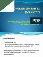 Dokumen Limbah b3 (Manifest)