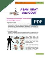 Newsletter, 71 Edisi 2 Asam Urat 15.02.2011