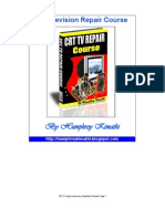 CRT TV Repair Course by Humphrey-Preview