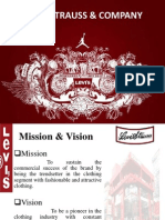 LEVI'S STRAUSS & COMPANY