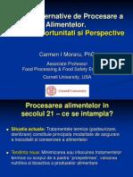 Metode Alternative de Procesare a Alimentelor Noutati, Oportunitati Si Perspective