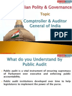 13 (B) Comptroller & Auditor General of India