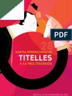 Programa Mostra de Titelles Vall d'Albaida 2012