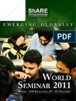 ShARE WorldSeminar2011 Report