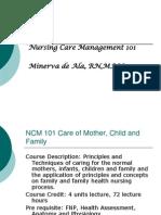 NCM 101(2)