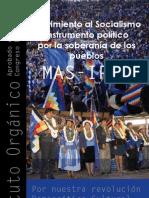 Estatuto Orgánico del MAS-IPSP