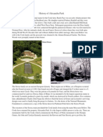 History of Alexandra Park