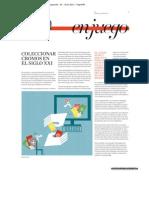 La Vanguardia / Coleccionar cromos en el siglo XXI