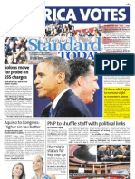 Manila Standard Today - Wednesday (November 7, 2012) Issue