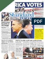 Manila Standard Today - Wednesday (November 7, 2012) Issue