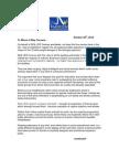 SeaLife Letter Opposing Wild Beluga Import