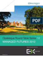 Opalesque 2012 Managed Futures Roundtable