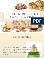 Uso Industrial de Los Carbohidratos