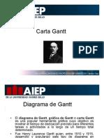 Presentacion Carta Gantt