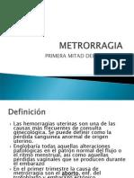 Metrorragia i