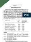 PAU Advt Nov12