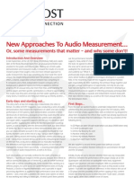 Nordost - New Approaches to Audio Measurement