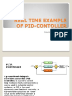 Real Time Example of Pid-contoller