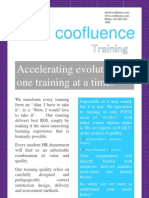 coofluence - In-person Training Brochure