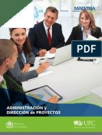 Maestria Administracion Direccion Proyectos UPC