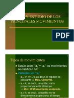 Tipos de Movimiento Paf