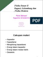 Microsoft PowerPoint - Kuliah-06 Kapasitor Dan Dielektrik Narasi