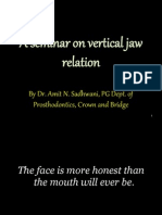 6 a Seminar on Vertical Jaw Relation