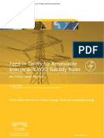 Feed in Tariffs for Renewable Energy and Wto Subsidy Rules - Wilke-fits-And-wto-law
