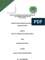 Practica Ference Del Derecho Penal