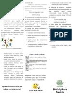 Panfleto Qualidade e Segurança Alimentar