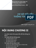 Bai Giang GIS - Co So Du Lieu Thong Tin Dia Ly