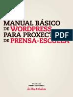 Guia Wordpress Prensa-Escuela Galego