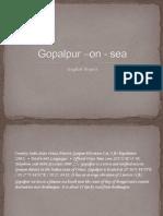 Gopalpur –on - sea