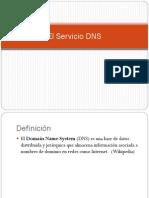 El Servicio DNS