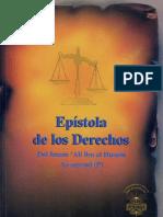 Epístola de Los Derechos _Risalat al Huquq