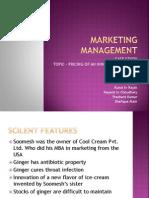 Marketing Management r