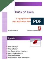 Ruby on Rails - A High-productivity Web Application Framework (June 2005)