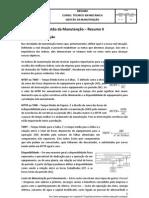 Gestão da Manutenção - Resumo II